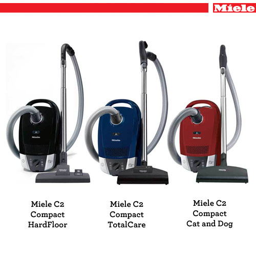 Miele C Cat And Dog W Black Vacuum
